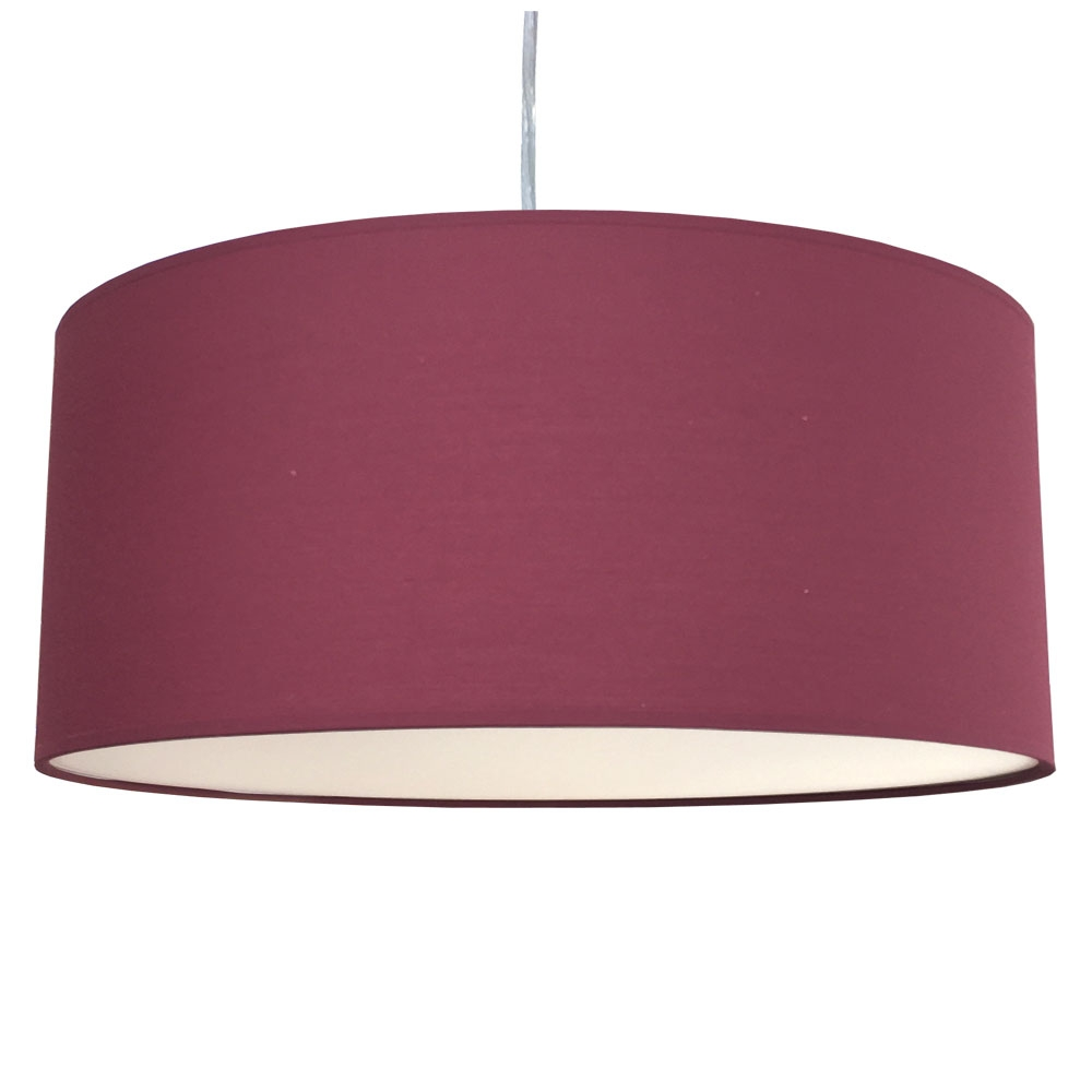 Drum Ceiling Shade Ruby